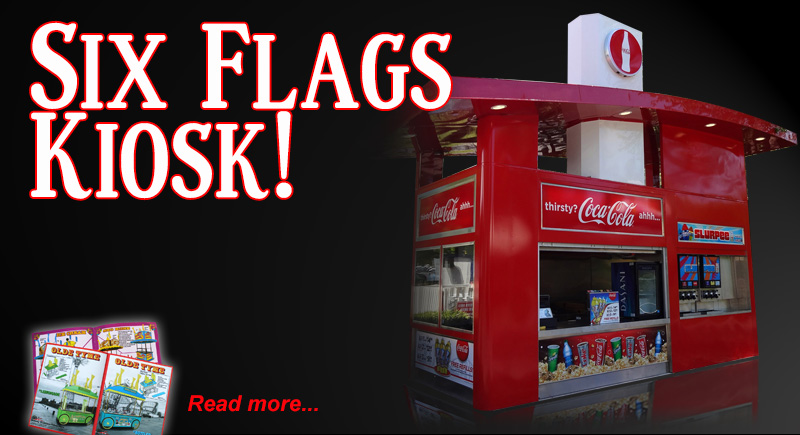 Six Flags Kiosks